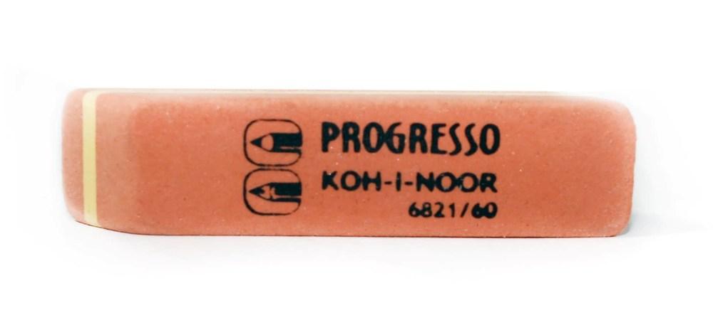 Резинка Progresso, (карандаш-шариковая ручка)