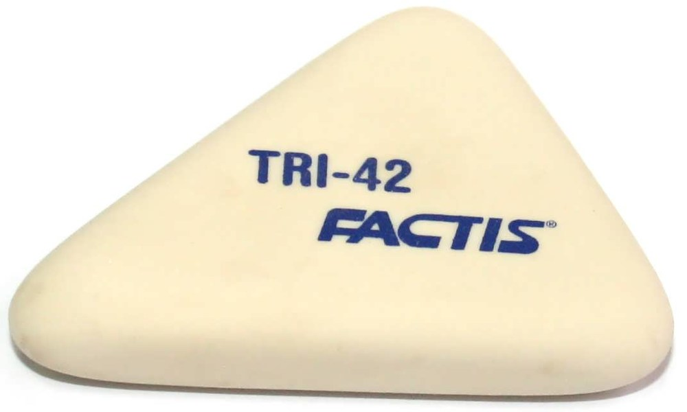 Резинка Factis TRI-42, треугольная, синтетич.