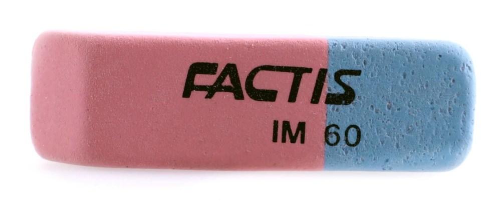 Резинка Factis, карандаш-тушь