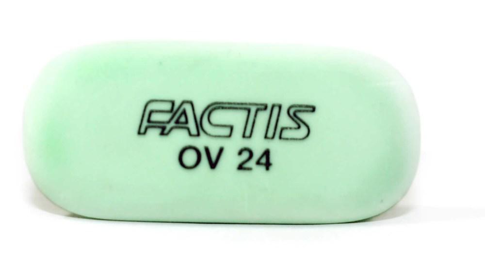 Резинка Factis, овальная, карандаш