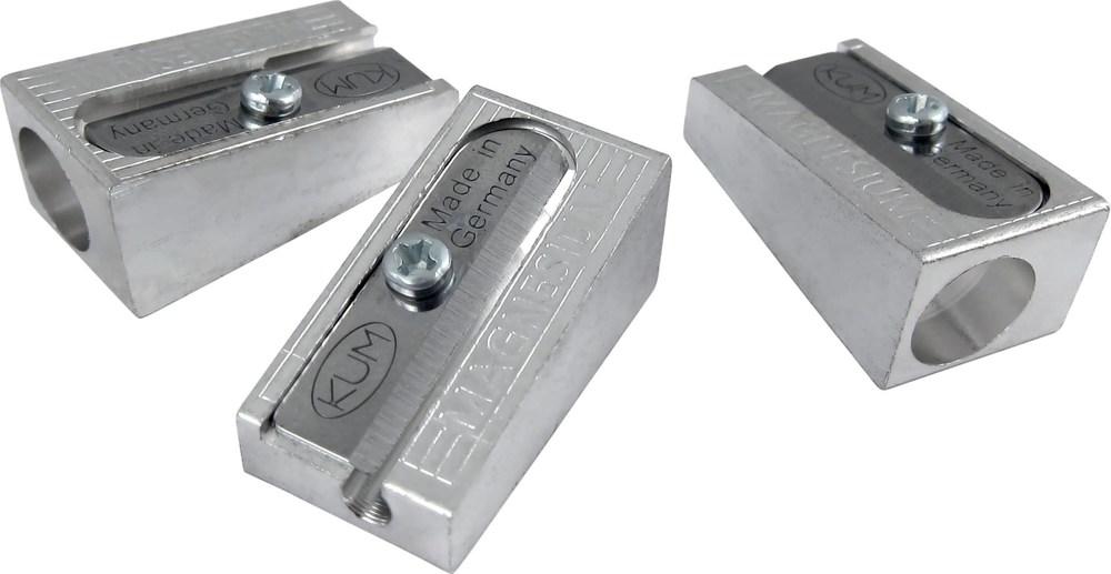 Точилка металлическая клиновидная, цинк