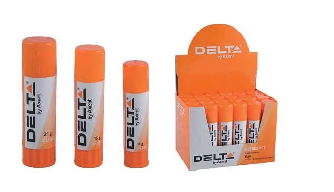 Клеящий карандаш 21 г, PVA, Delta