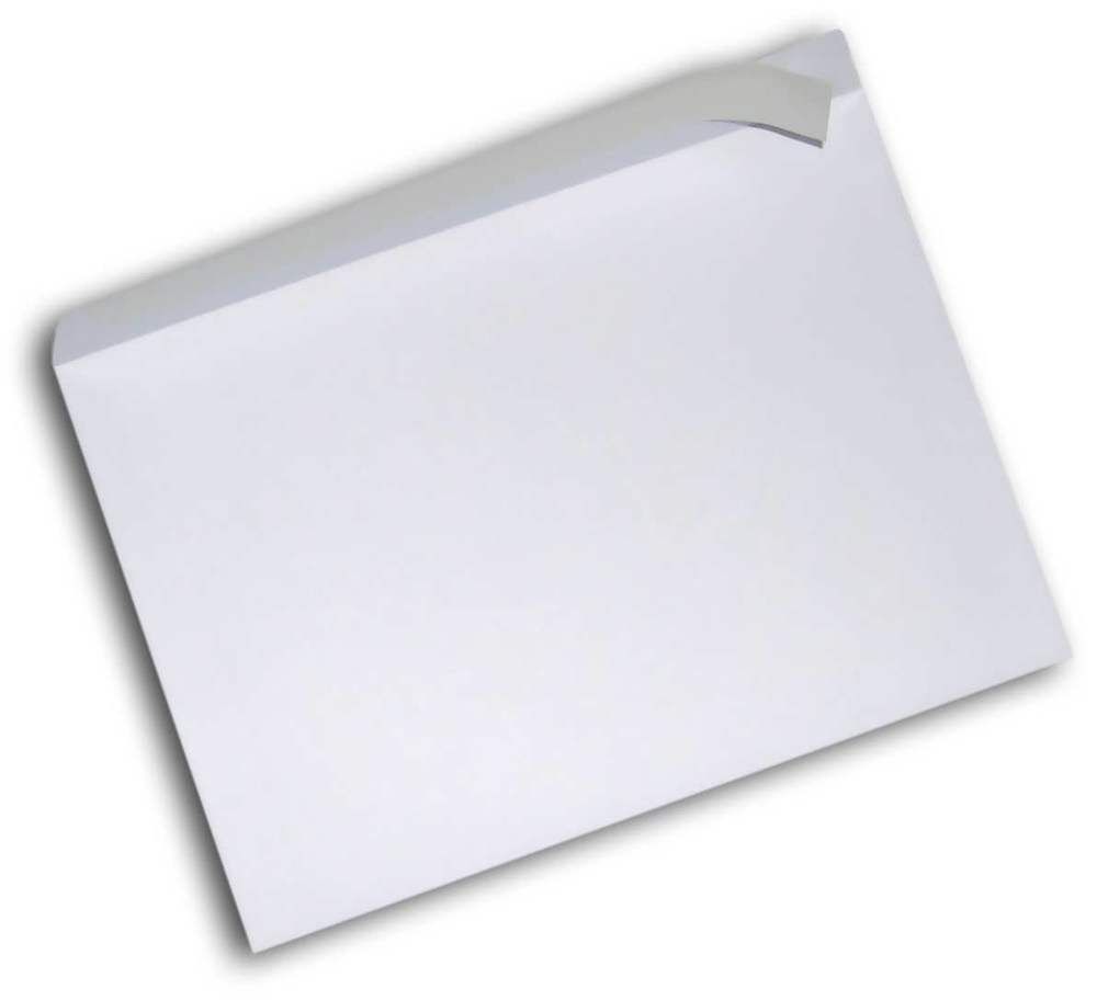 Конверт 162*114, белый, СКЛ, 0+0, кл. прямой