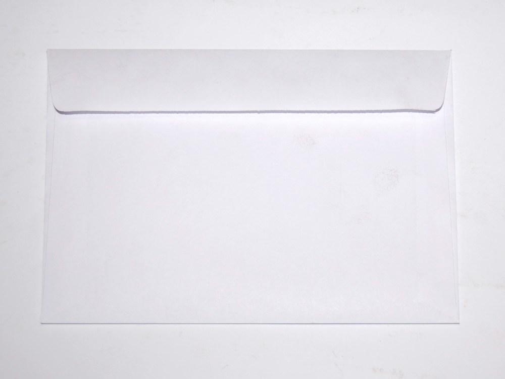 Конверт 162*114, белый, МК, 0+0, кл. прямой