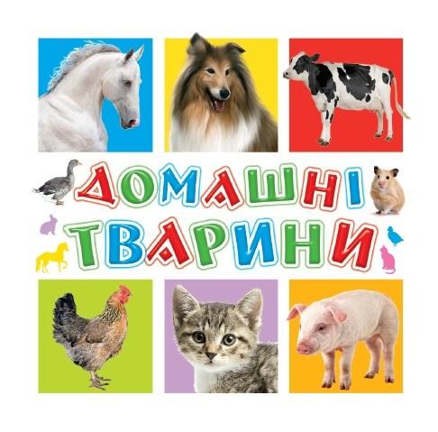 Книга для самых маленьких. Домашние животные
