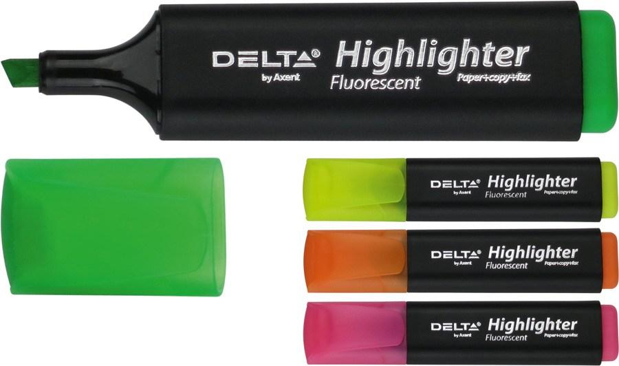 Маркер текстовый 1-5 мм Highlighter D2501 зелений
