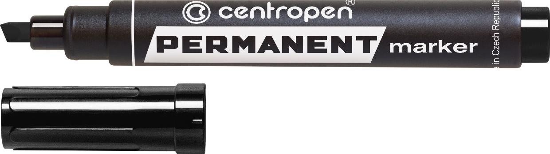 Маркер Permanent спиртовой 1-4.6 мм черный Centropen
