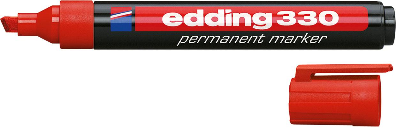 Маркер Permanent 1-5 мм Edding красн.