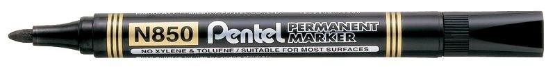 Маркер перманентный Pentel, черный