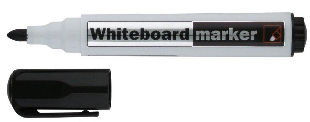 Маркер Whiteboard D2800, 2 мм круглый черный