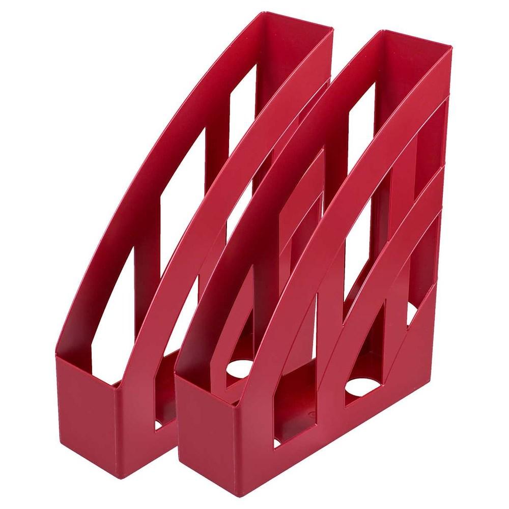 Лоток вертикальный КИП, темно-красный ЛВ-01