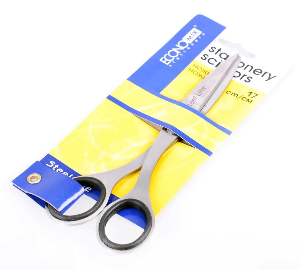 Ножницы 17 см Economix металлические