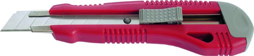 Нож канцелярский большой, мет. направляющие 18 мм Axent