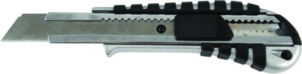 Нож канцелярский большой, металлический, рез. вставки, 18 мм Axent