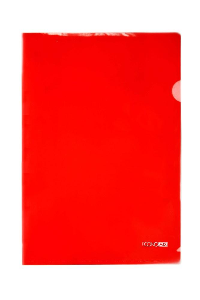 Файл-уголок А4 цветной