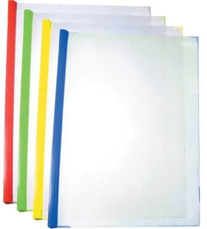 Папка прозрачная А4 с планкой-зажимом 2-65