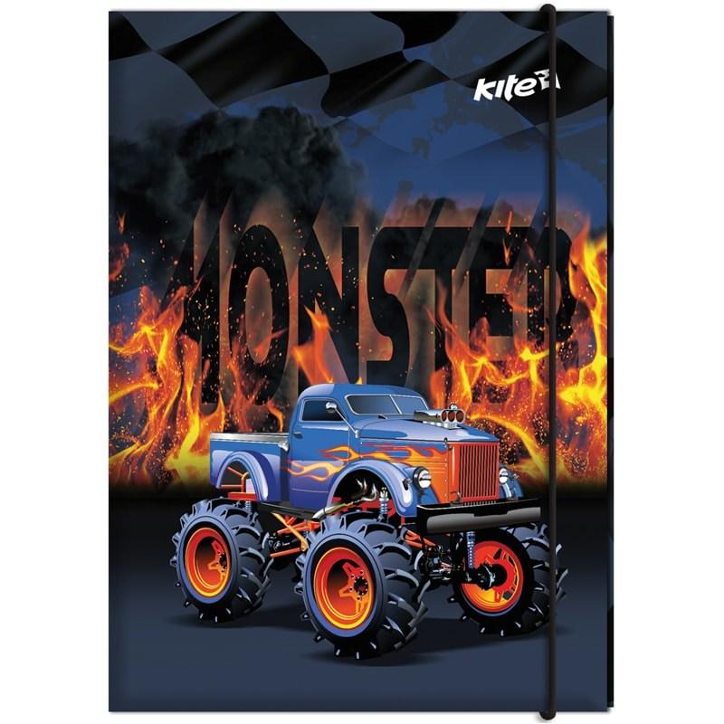 Папка для труда А4, Kite, Monster Truck