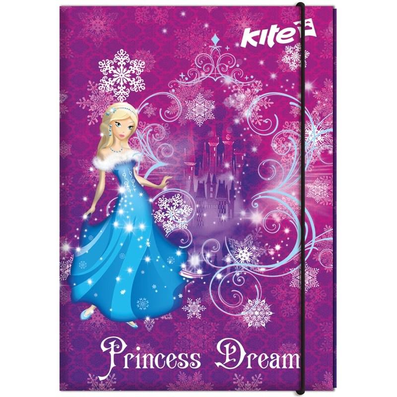 Папка для труда А4, Kite, Princess Dream