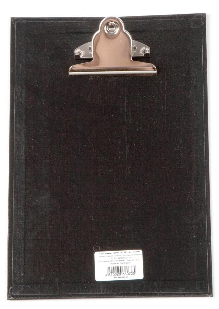 Планшет с зажимом   А4, черный
