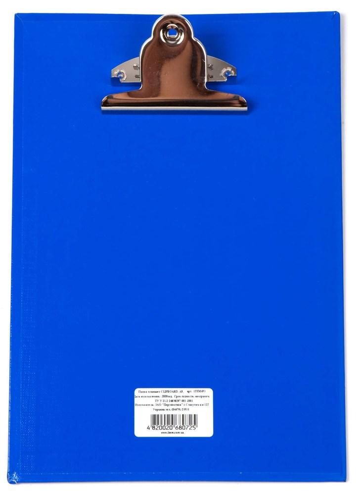 Планшет с зажимом   А4, синий