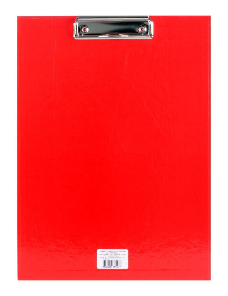 Планшет с зажимом   А4, красный