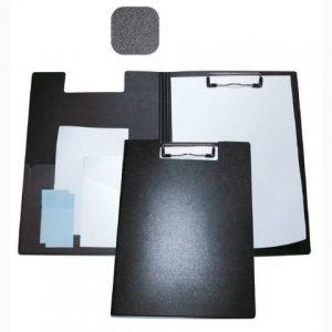 Папка-доска с зажимом  А4 пластик, черная