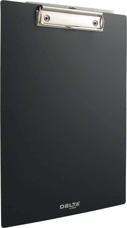 Планшет с зажимом  А4 пластик, черный