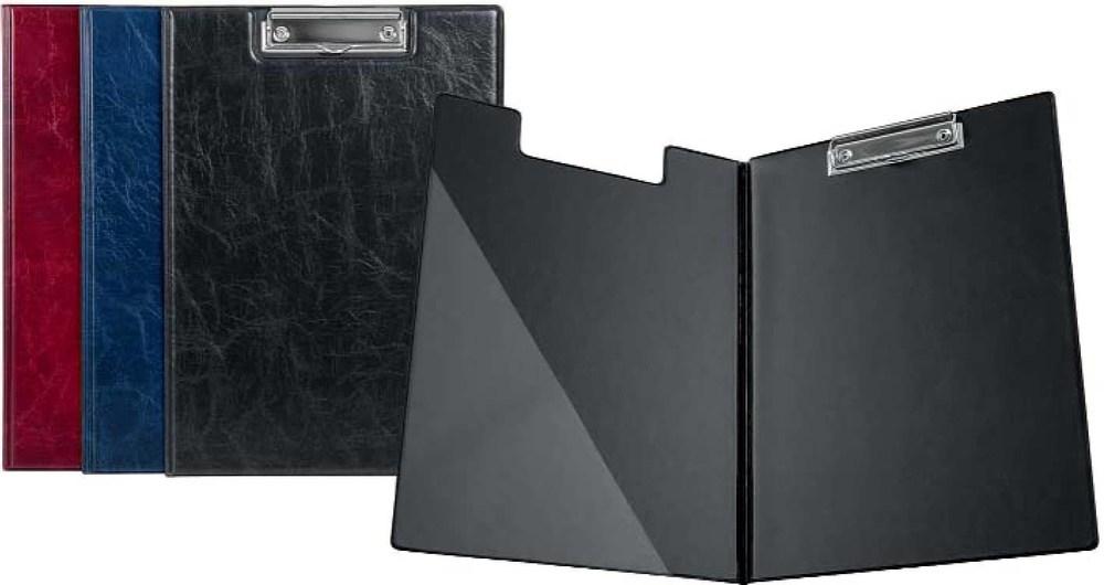 Папка-планшет с зажимом  А4 РVC, Xepter черн.