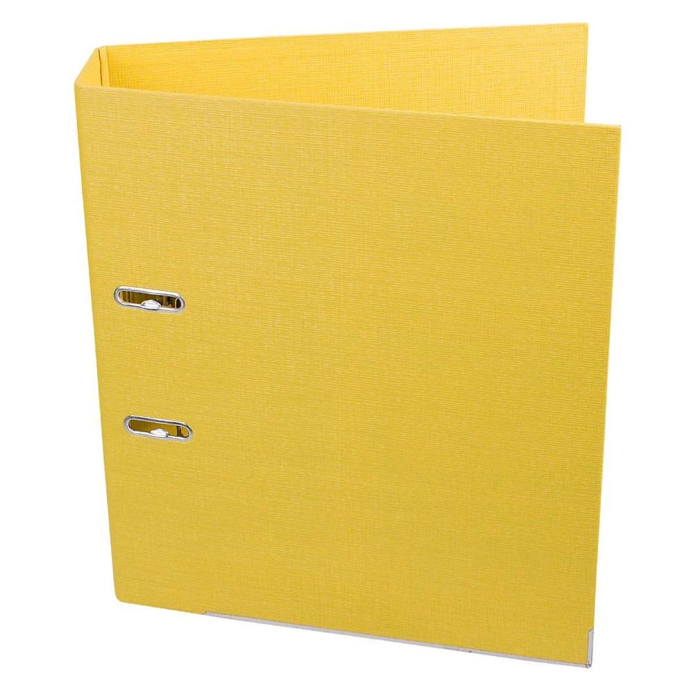 Регистратор 70 мм Axent Prestige (PP) желтый