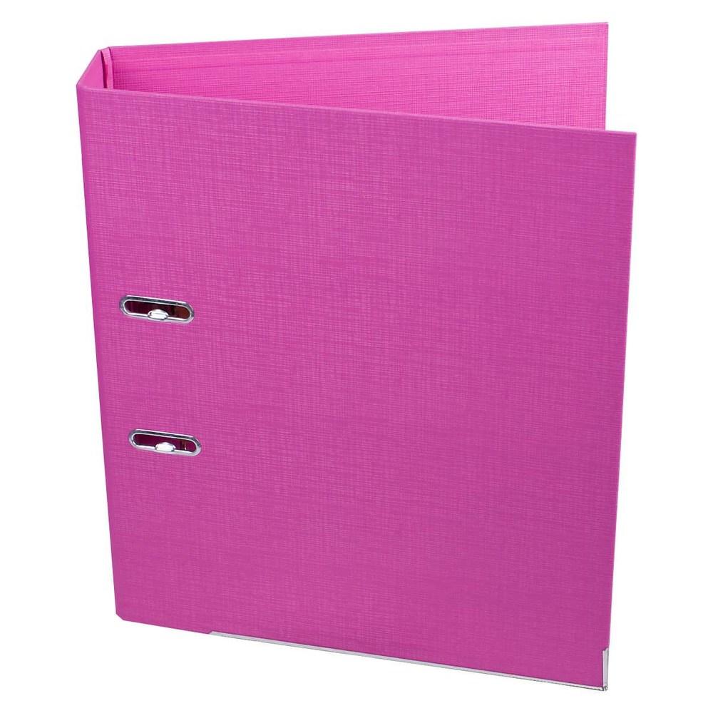 Регистратор 70 мм Axent Prestige (PP) розовый