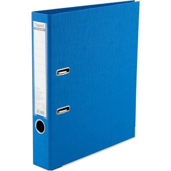 Регистратор 50 мм Axent Prestige+ (PP), голубой