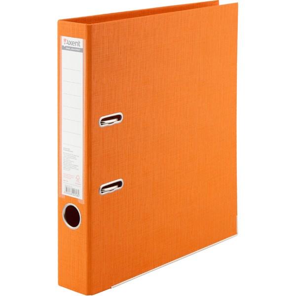 Регистратор 50 мм Axent Prestige+ (PP), оранжевый