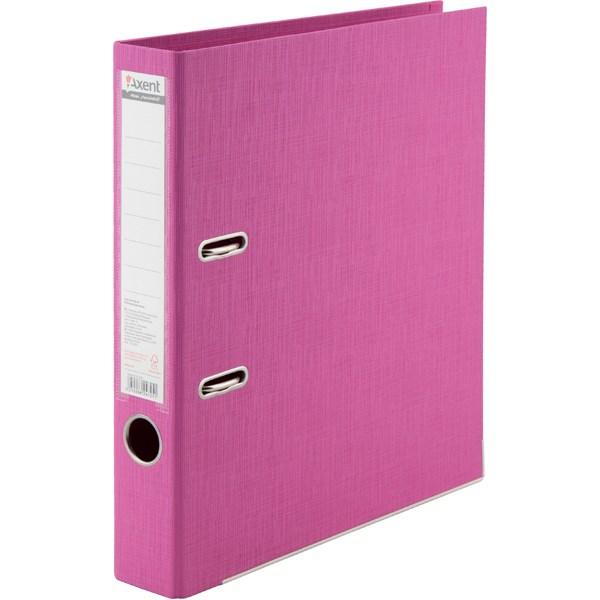 Регистратор 50 мм Axent Prestige+ (PP), розовый