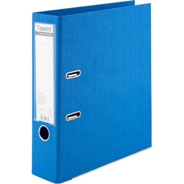Регистратор 75 мм Axent Prestige+ (PP), голубой