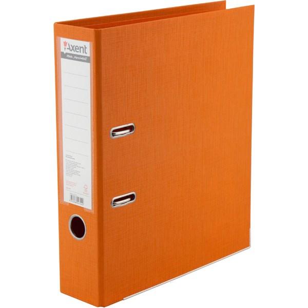 Регистратор 75 мм Axent Prestige+ (PP), оранжевый
