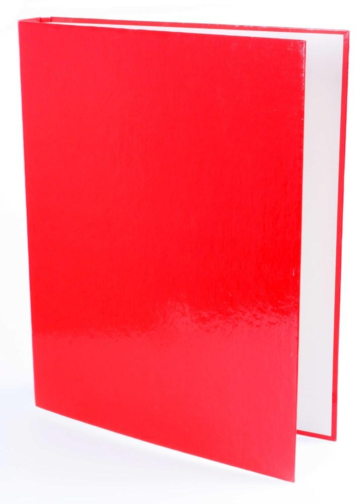 Папка А4 40мм на 4 кольца красная