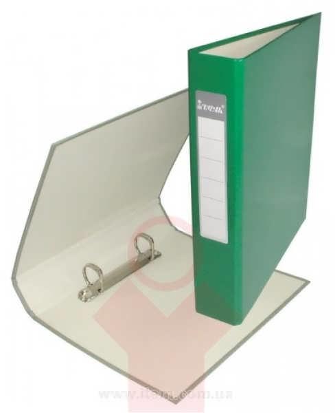 Папка А5 40мм на 2 кольца зеленая