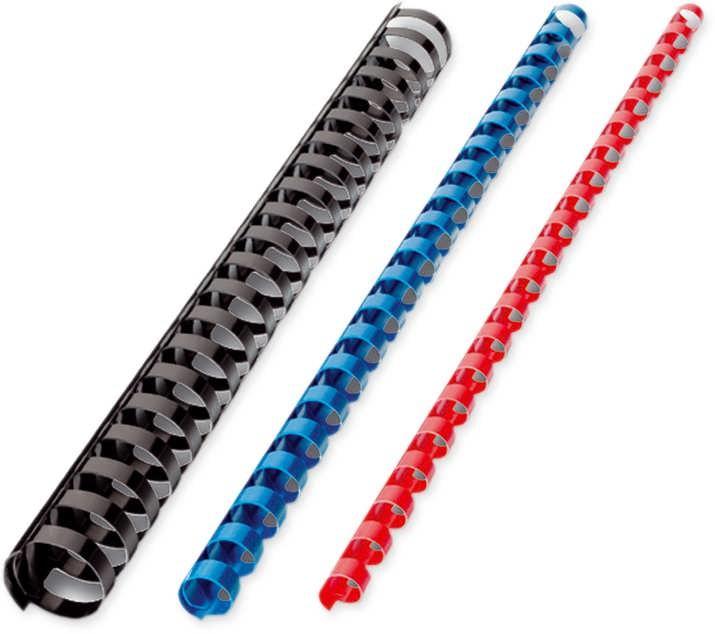 Пружины пласт. 6 мм. за 100 шт. синий