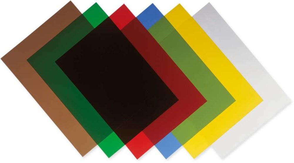 Обложки А3 200 мкр. прозрачн. бесцветные