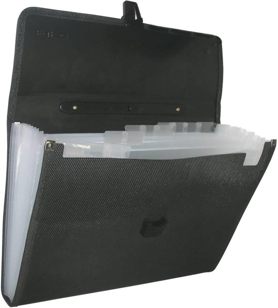 Портфель пластиковый на 13 отделений