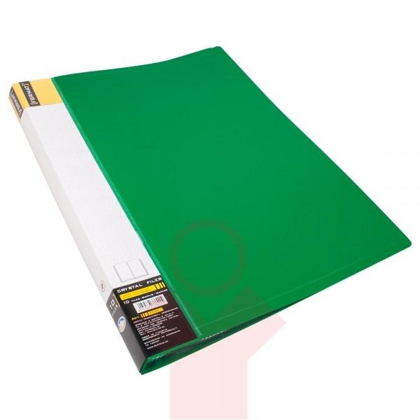 Папка пластиковая с 10 файлами FORMAT