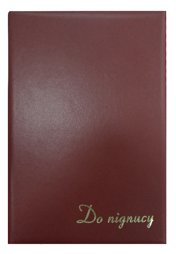 Папка на подпись 220*320,коричнев.,бум.винил