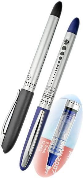 Ручка-роллер Needle Point Pen AIHAO, синяя