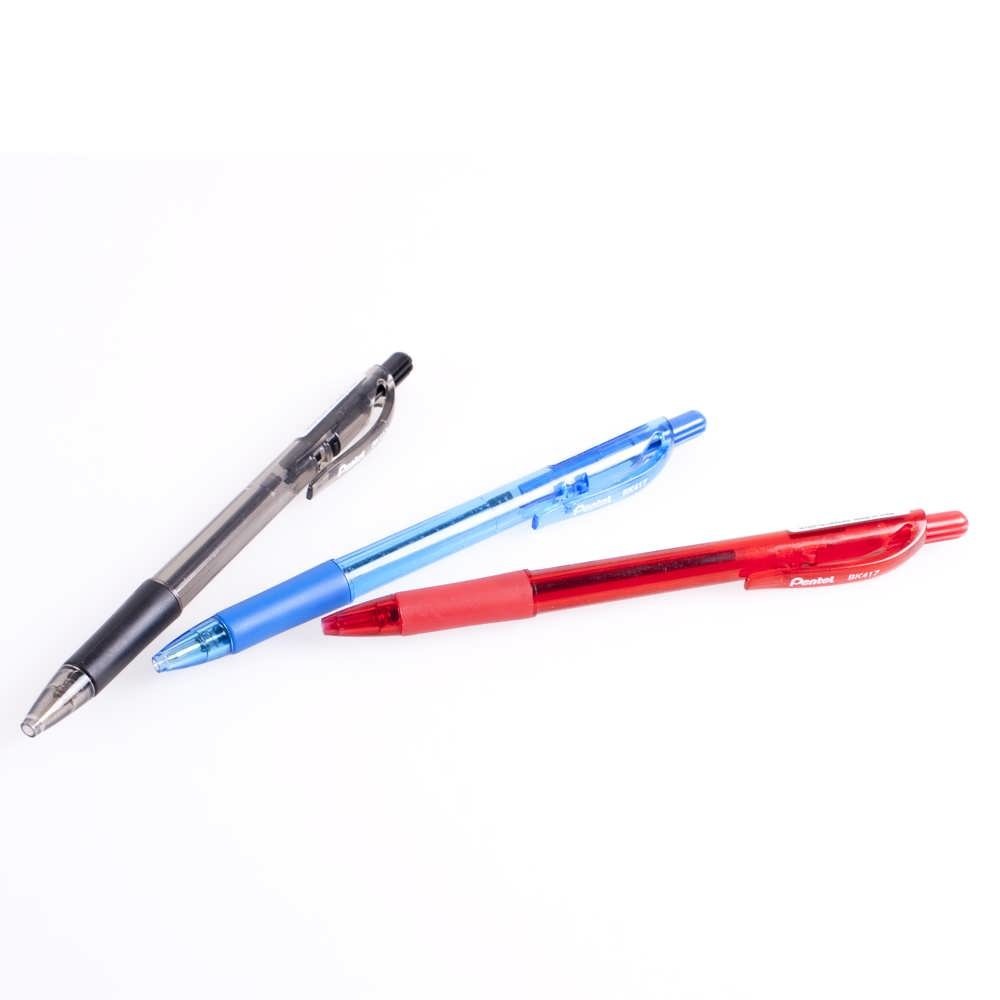 Ручка шариковая Pentel BK 417, синяя