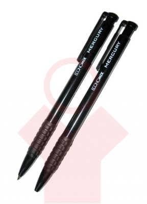 Ручка шариковая Economix Mercury, черная