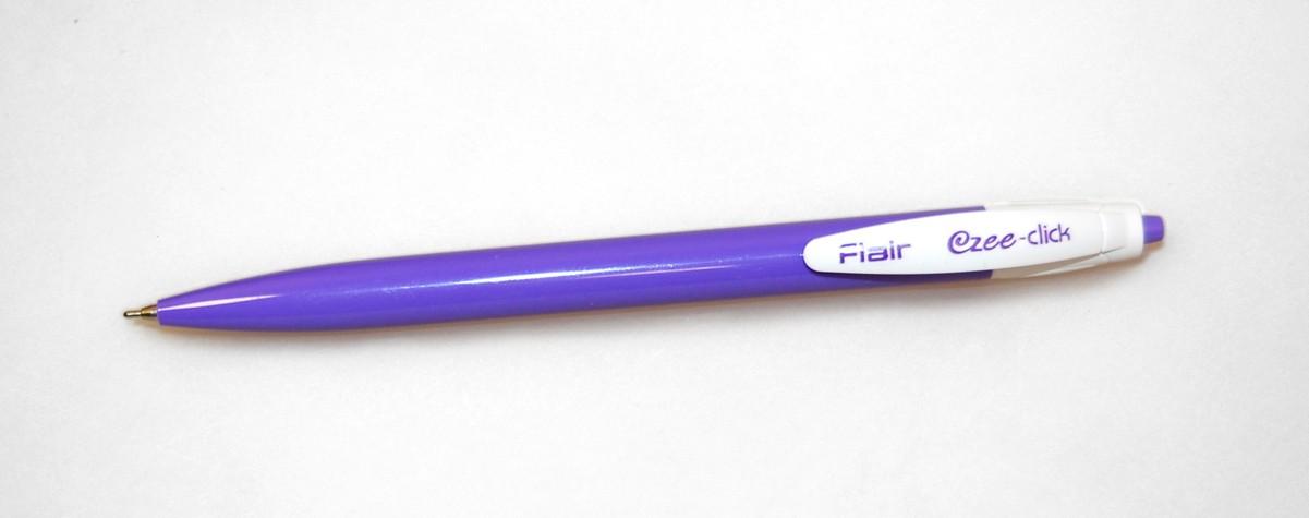 Ручка шариковая Flair 964 Ezee click, синяя