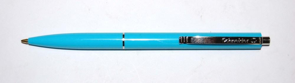 Ручка шариковая Schneider K15  NEW, корпус ассорти, синяя