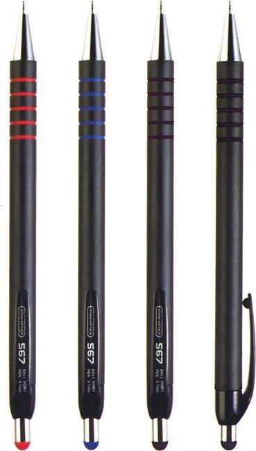 Ручка шариковая Aihao 567, синяя