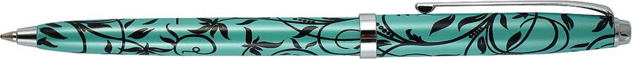 Ручка шариковая Axent Unique, бирюзовая