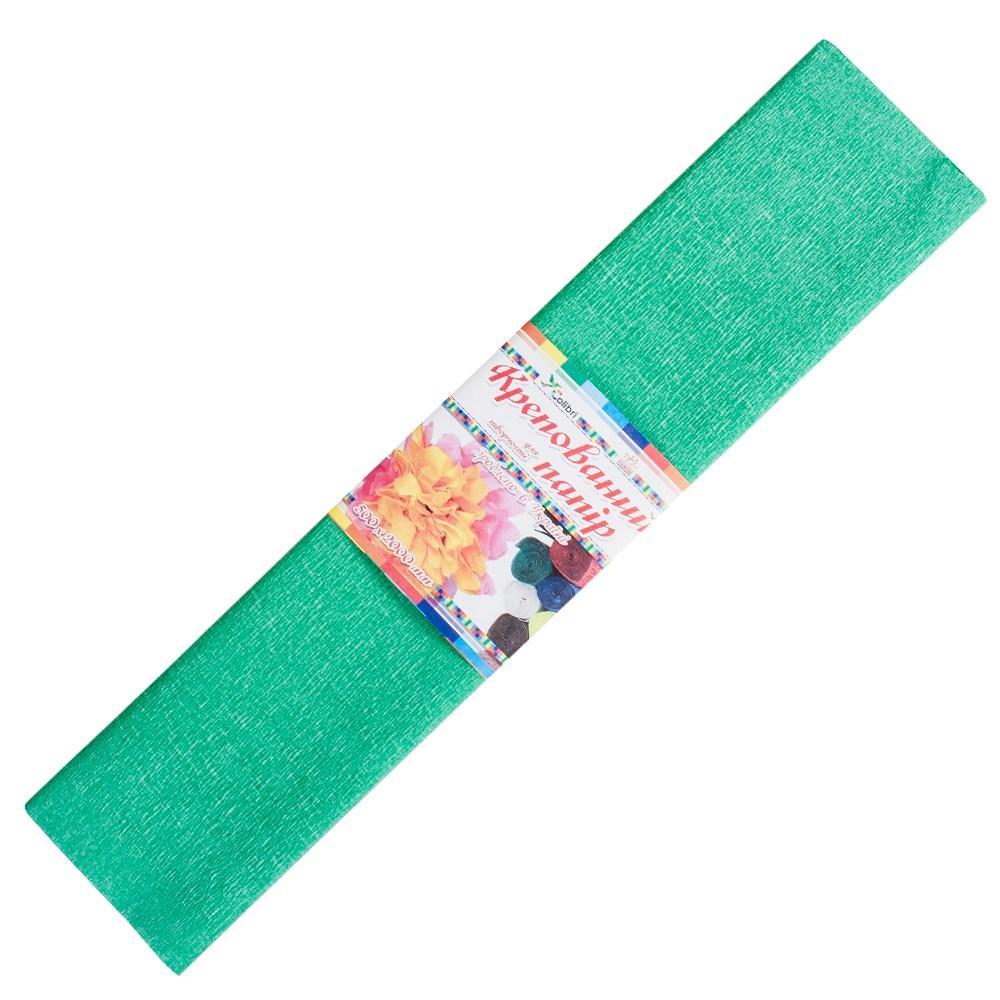 Бумага гофрированная №6, зеленая  50*200 см (Мицар)